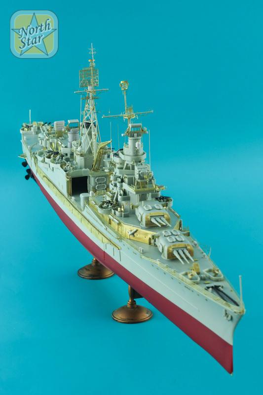 NSA350118 米海軍 重巡洋艦 インディアナポリス CA-35 ディテールセット