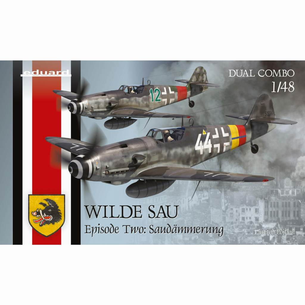 【予約受付中】11148 1/48 ヴィルデザウ エピソード2:夜明け メッサーシュミット Bf109G-10/G-14/AS デュアルコンボ リミテッドエディション