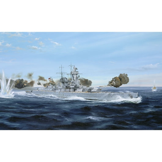 【再入荷】05774 ドイツ海軍 装甲艦(ポケット戦艦) アドミラル・グラーフ・シュペー 1939