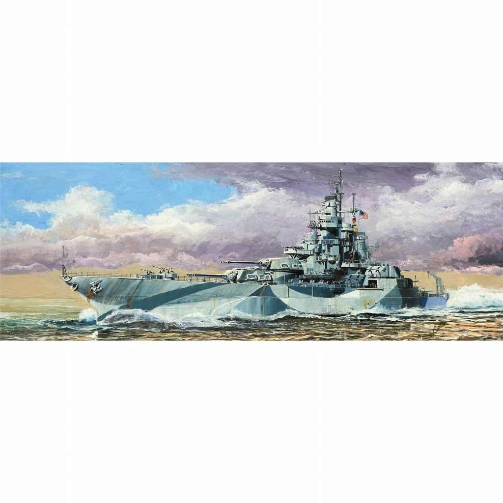 W204 米国海軍 コロラド級戦艦 BB-48 ウェスト・ヴァージニア 1945