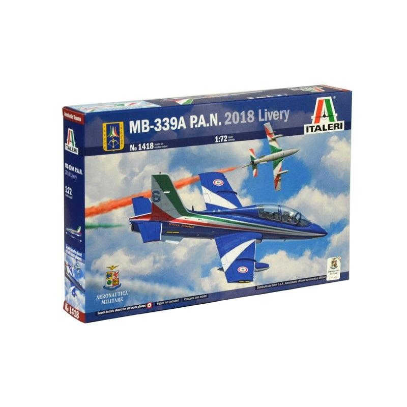 1418 アエロマッキ MB-339A P.A.N. フレッチェ・トリコローリ 2018
