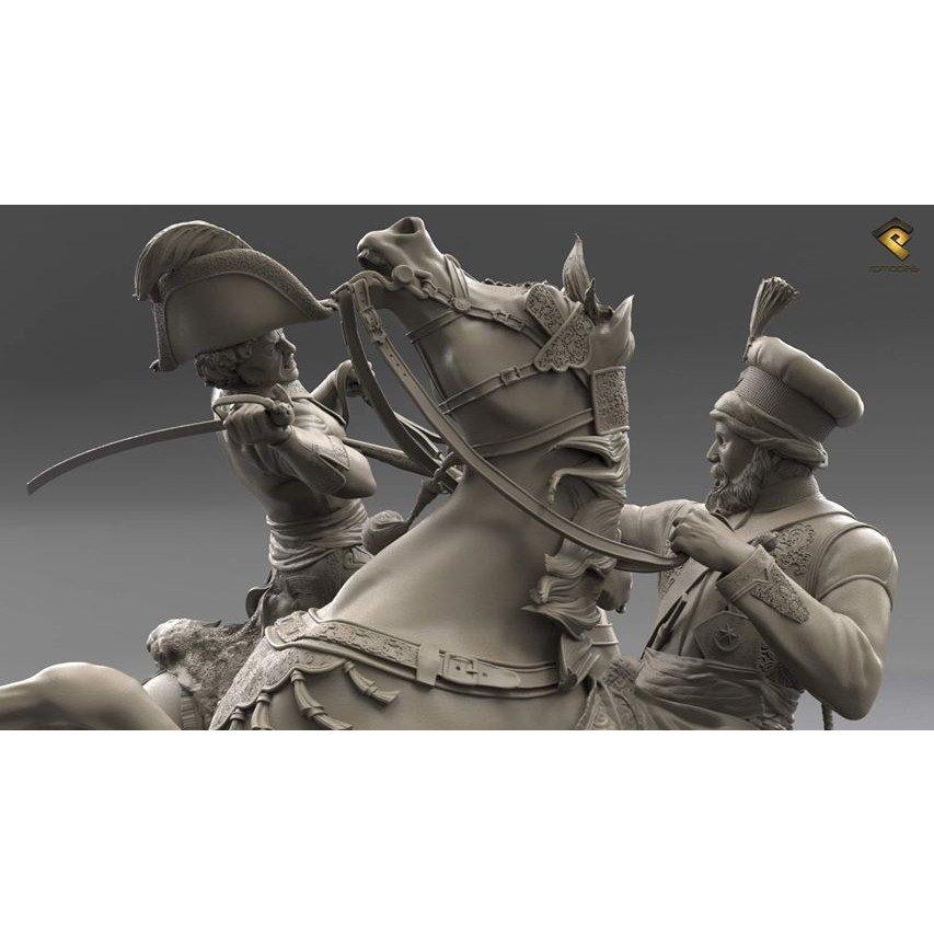 HRP-120-3-0000 アブキールの戦い1799年 フランス軍ミュラ将軍vsオスマン帝国軍サイード・ムスタファ・パシャ