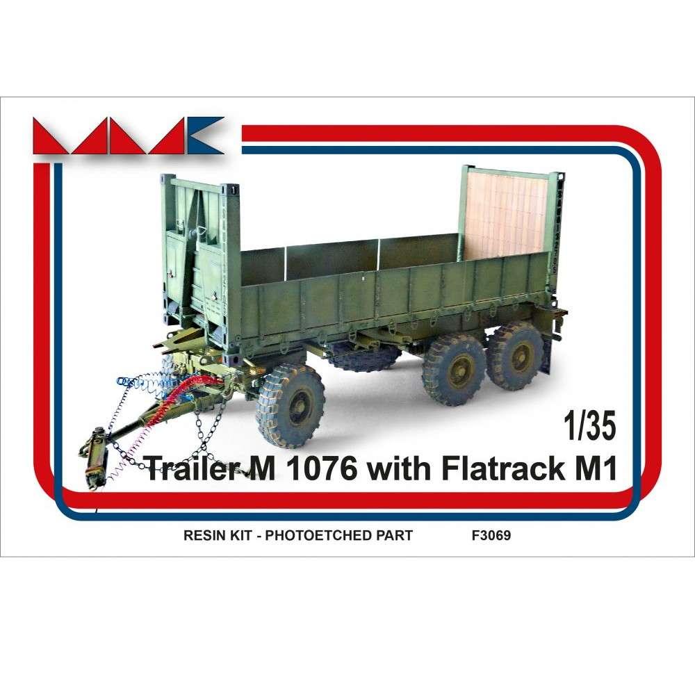 F3069 アメリカ M1076 PLS トレーラー w/M1 平荷台