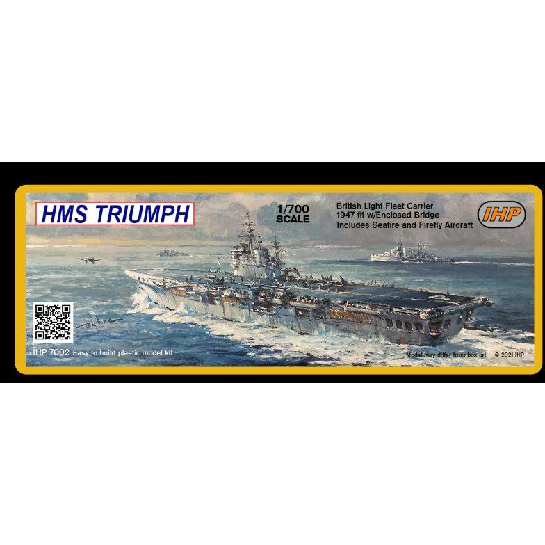 【新製品】IHP7002 英国海軍 コロッサス級航空母艦 R16 トライアンフ Triumph 1947