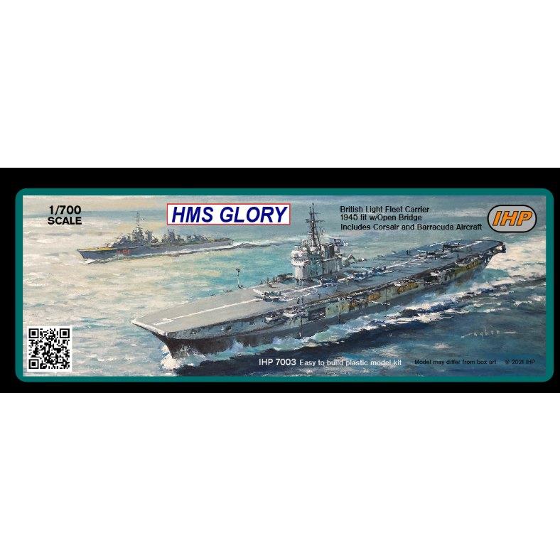 【新製品】IHP7003 英国海軍 コロッサス級航空母艦 R62 グローリー Glory 1945