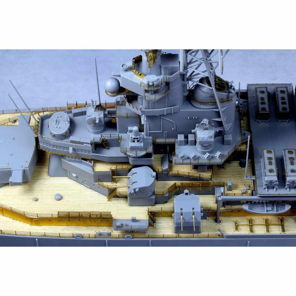 AD10001 米海軍 戦艦 BB-63 ミズーリ 1991年仕様洋 ディテールアップパーツセット