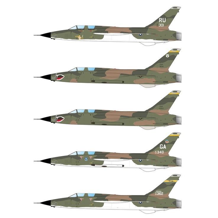 72086 リパブリック F-105F/G サンダーチーフ