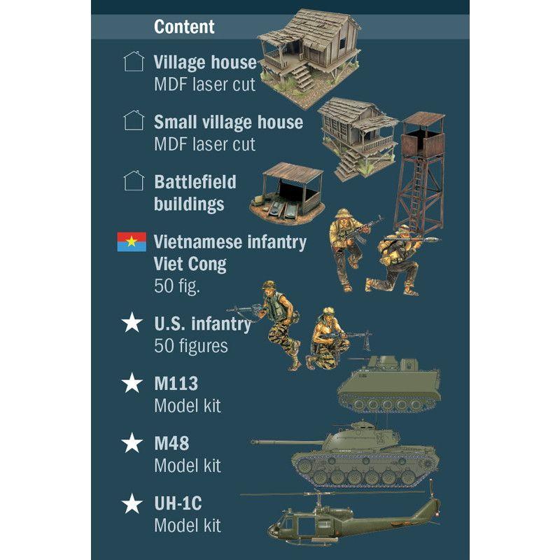 6184 ベトナム戦争 シルバー・バヨネット作戦 1965年 バトルセット