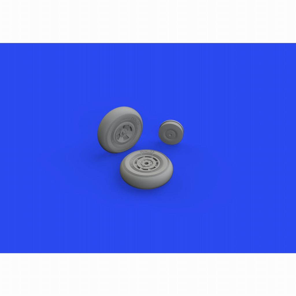 【新製品】ブラッシン648636 1/48 ホーカー テンペスト Mk.II ホイール (スペシャルホビー用)