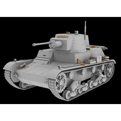 【新製品】35069 ポーランド 7TP 単砲塔型戦車 37mm砲 フルインテリア付