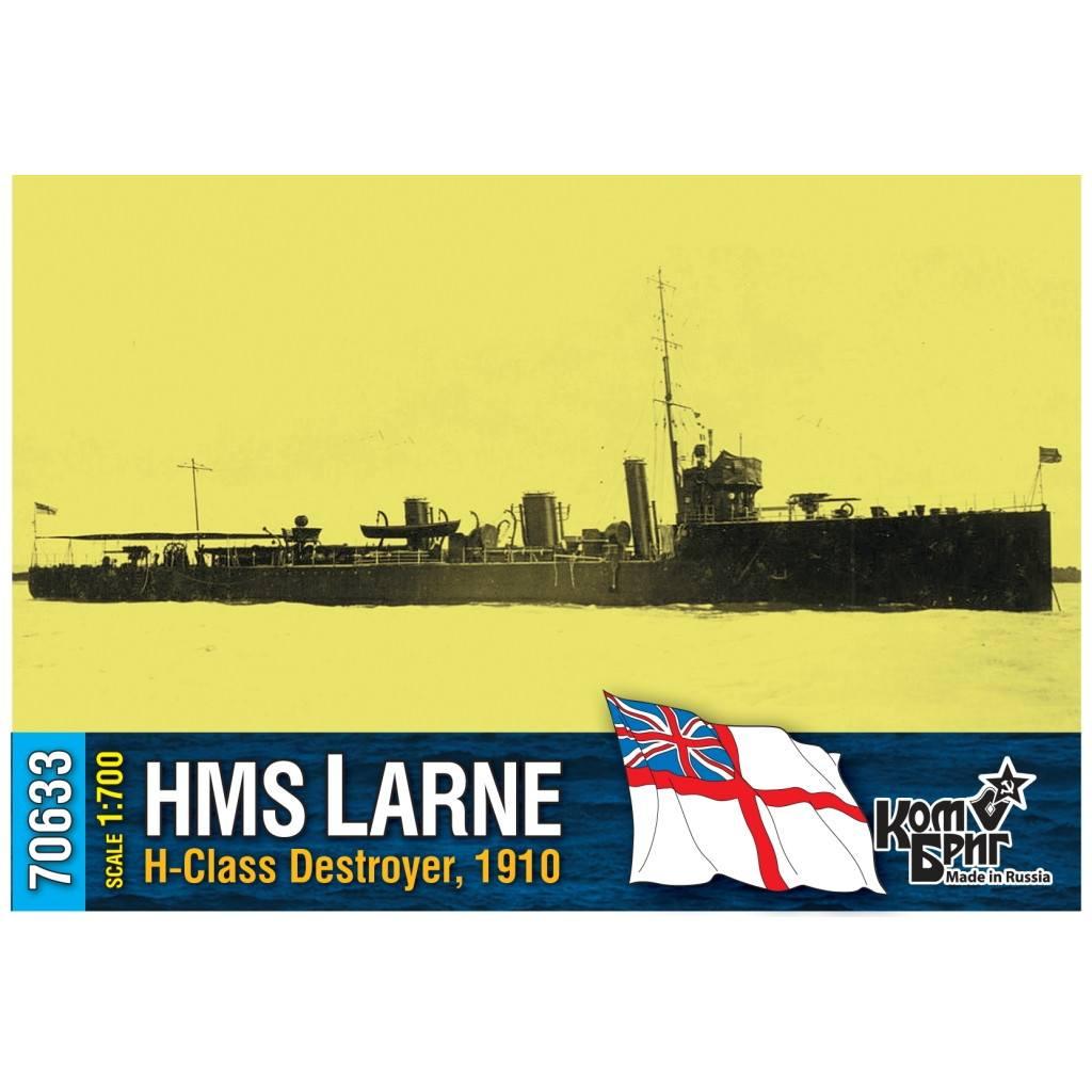 70633 英国海軍 H級駆逐艦 ラーン Larne 1910