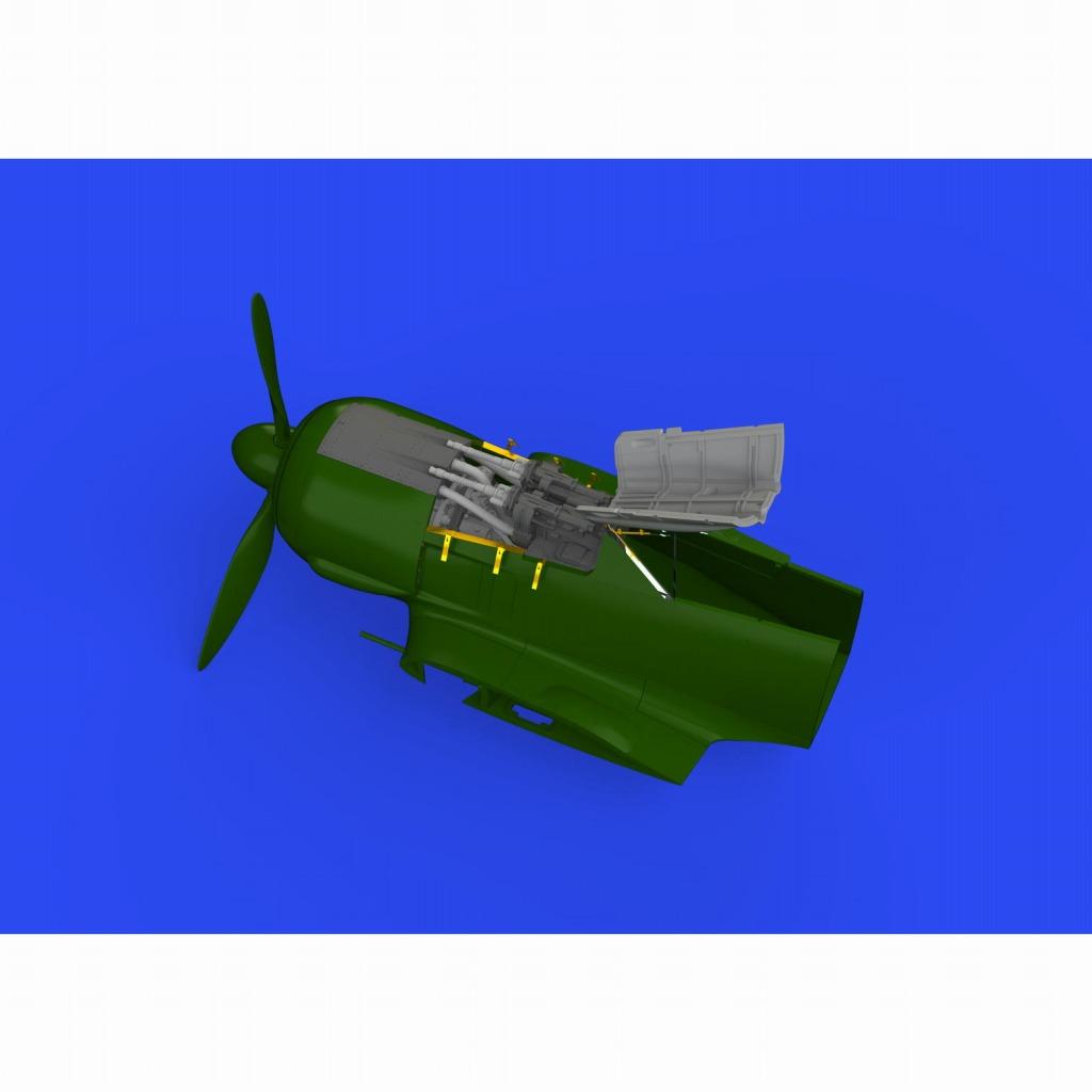 【新製品】ブラッシン648649 1/48 フォッケウルフ Fw190F-8 胴体内機銃 (エデュアルド用)