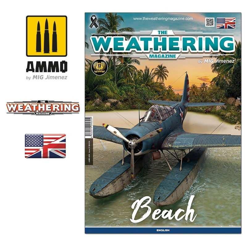 【再入荷】A.MIG-4530 ウェザリングマガジン 第31号 ビーチ(海岸)