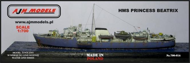 700-014 英海軍 揚陸艦 プリンセス・ベアトリクス Prinses Beatrix