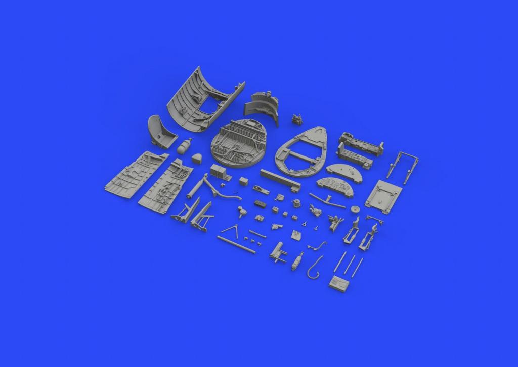 ブラッシン632115 F4U-1D コルセア コクピットセット