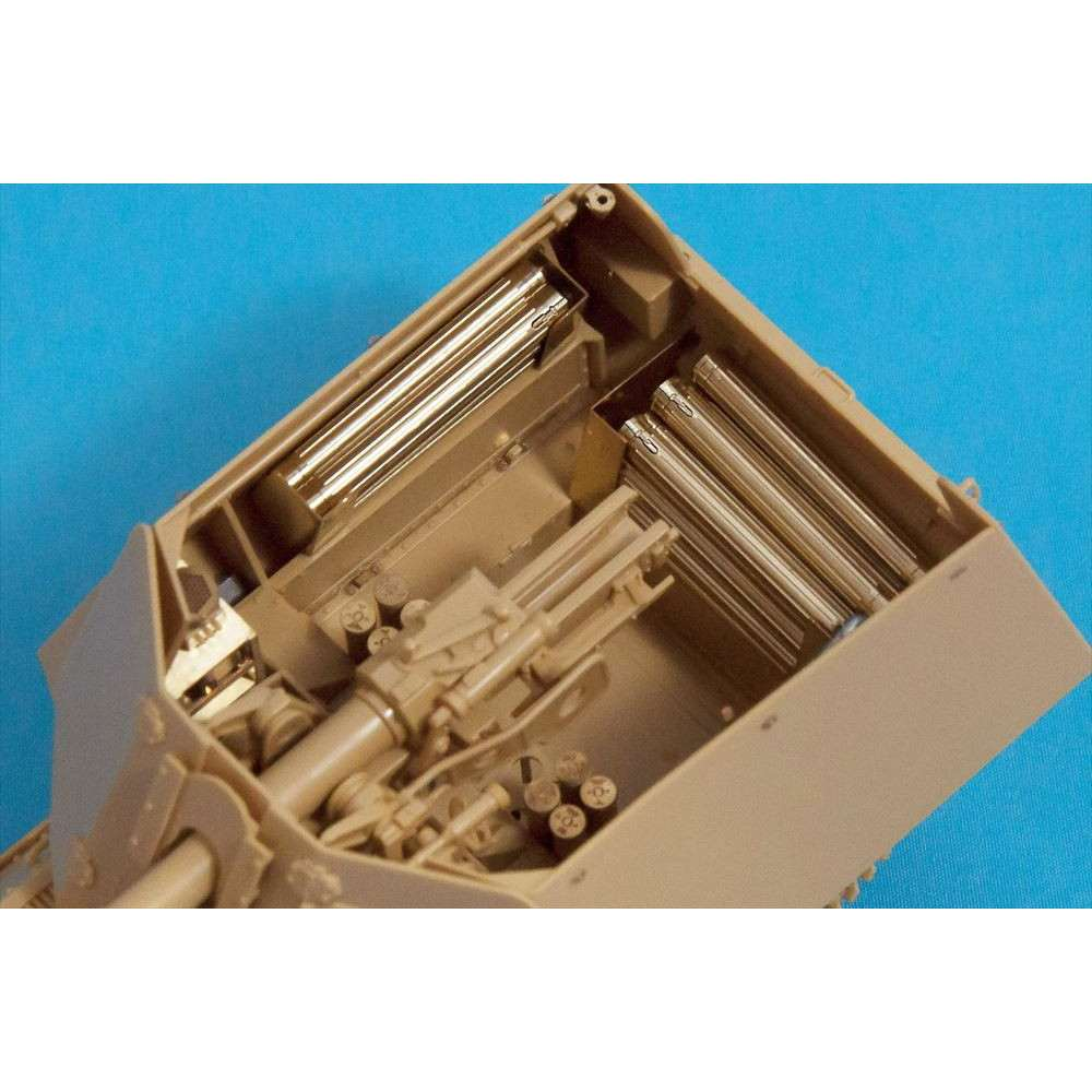 【新製品】P35V-017 7.5cmPAK40砲弾ケース(11本セット)