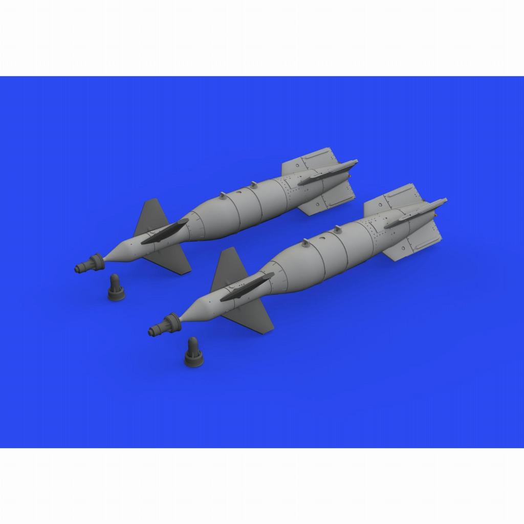 【新製品】ブラッシン672268 1/72 CPU-123 1000ポンド ペイブウェイII爆弾 (英軍用)(2個入り)