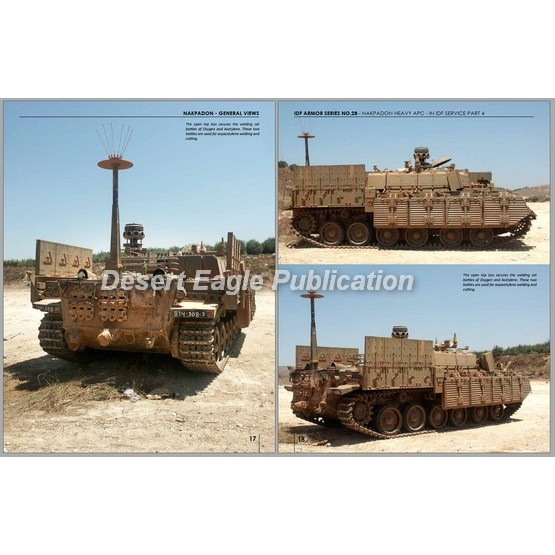 No.28 IDF ナクパドン重装甲歩兵戦闘車 センチュリオンベースの装甲兵員輸送車 Part 4