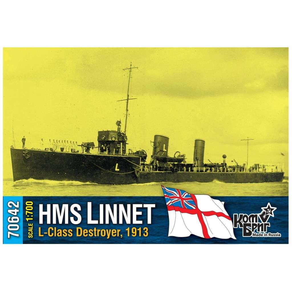 70642 英国海軍 L級駆逐艦 リネット Linnet 1913