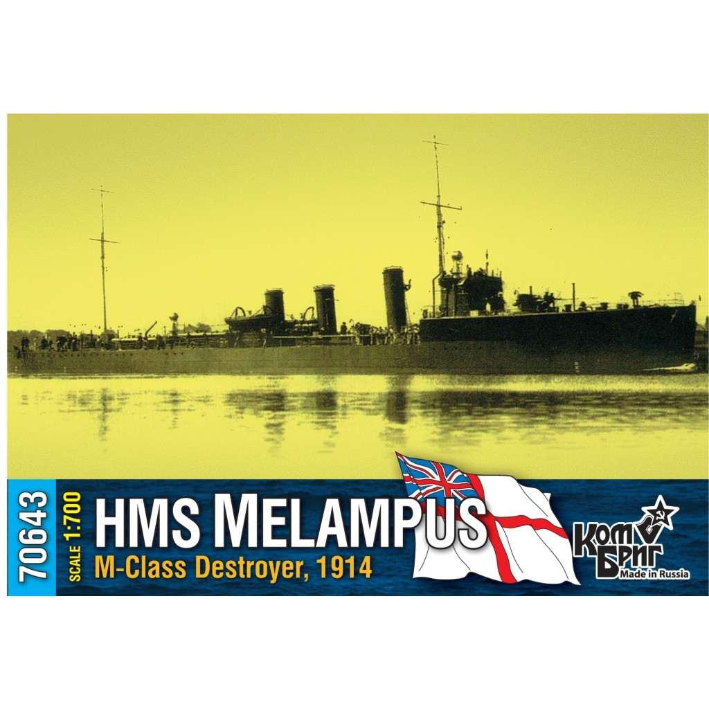 70643 英国海軍 M級駆逐艦 メランポス Melampus 1914
