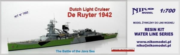 7082 オランダ海軍 軽巡洋艦 デ・ロイテル De Ruyter 1942