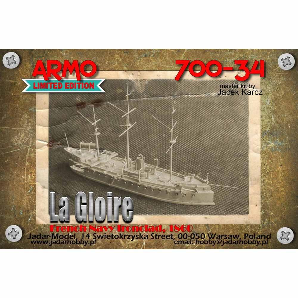 700-34 仏海軍 装甲艦 ラ・グロワール La Gloire 1860