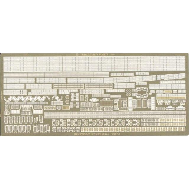 35124 重巡洋艦 プリンツ・オイゲン用エッチングパーツセット