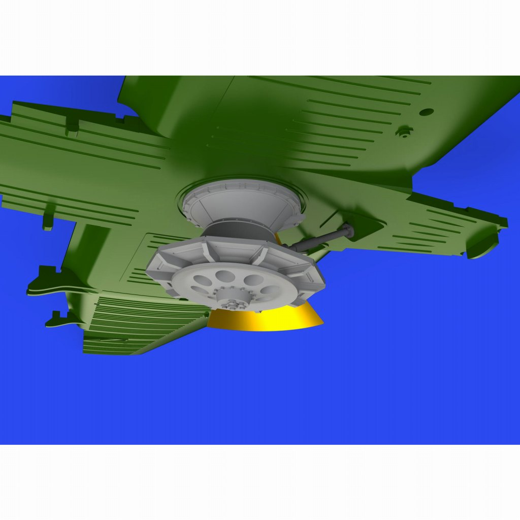 """【新製品】ブラッシン672248 LET Z-37A """"チメラック""""用空中散布装置(エデュアルド用)"""