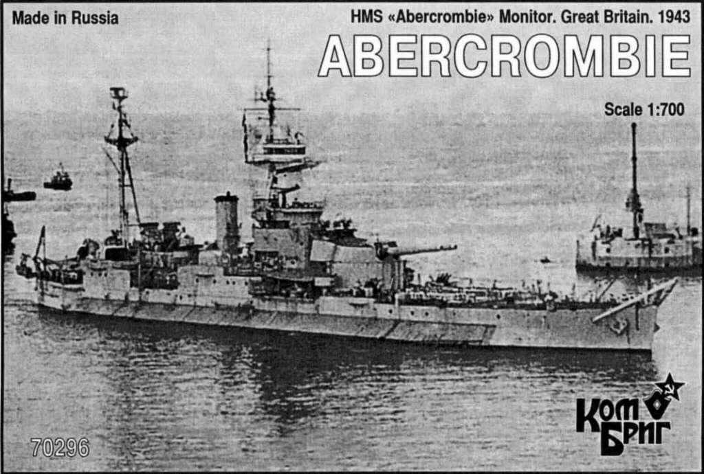 70296 モニター艦 アバクロンビー Abercrombie 1943