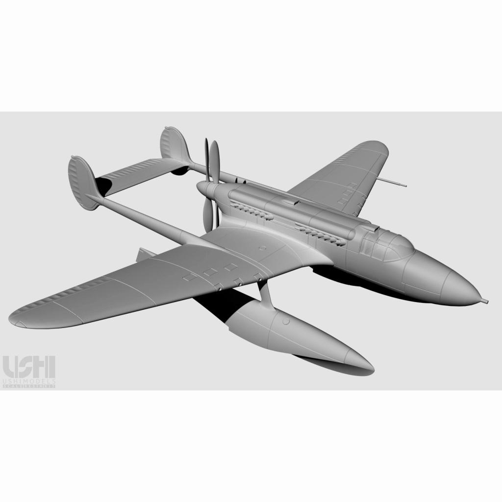 【新製品】72009 1/72 ソ連海軍 ベリエフ B-10M レジンキット