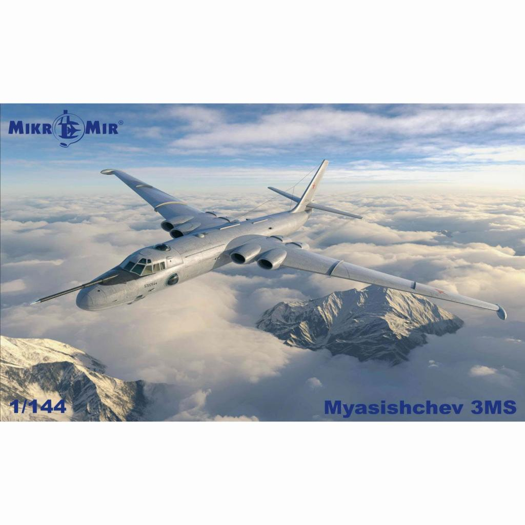 【新製品】144-032 1/144 ミャスィーシチェフ 3MS バイソン-B 戦略爆撃機