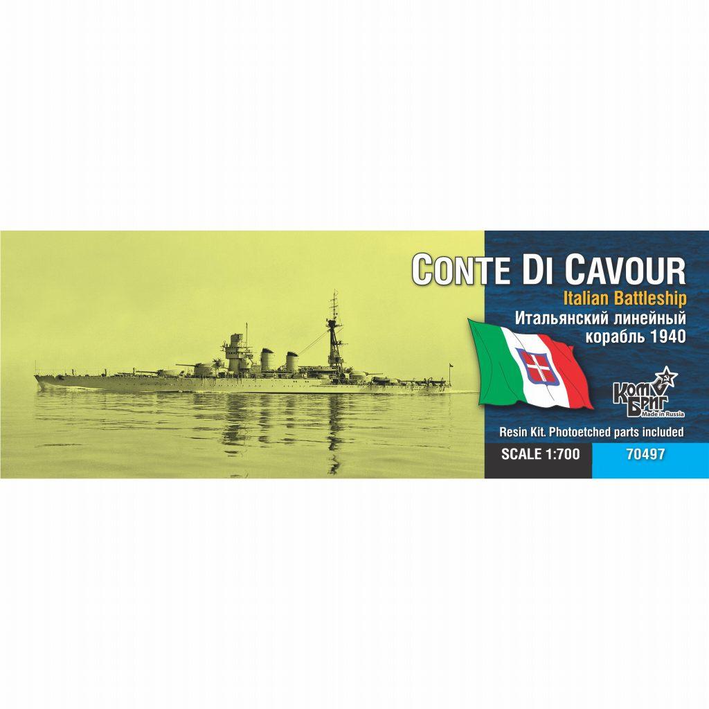 70497 伊海軍 コンテ・ディ・カブール級戦艦 コンテ・ディ・カブール Conte di Cavour 1941