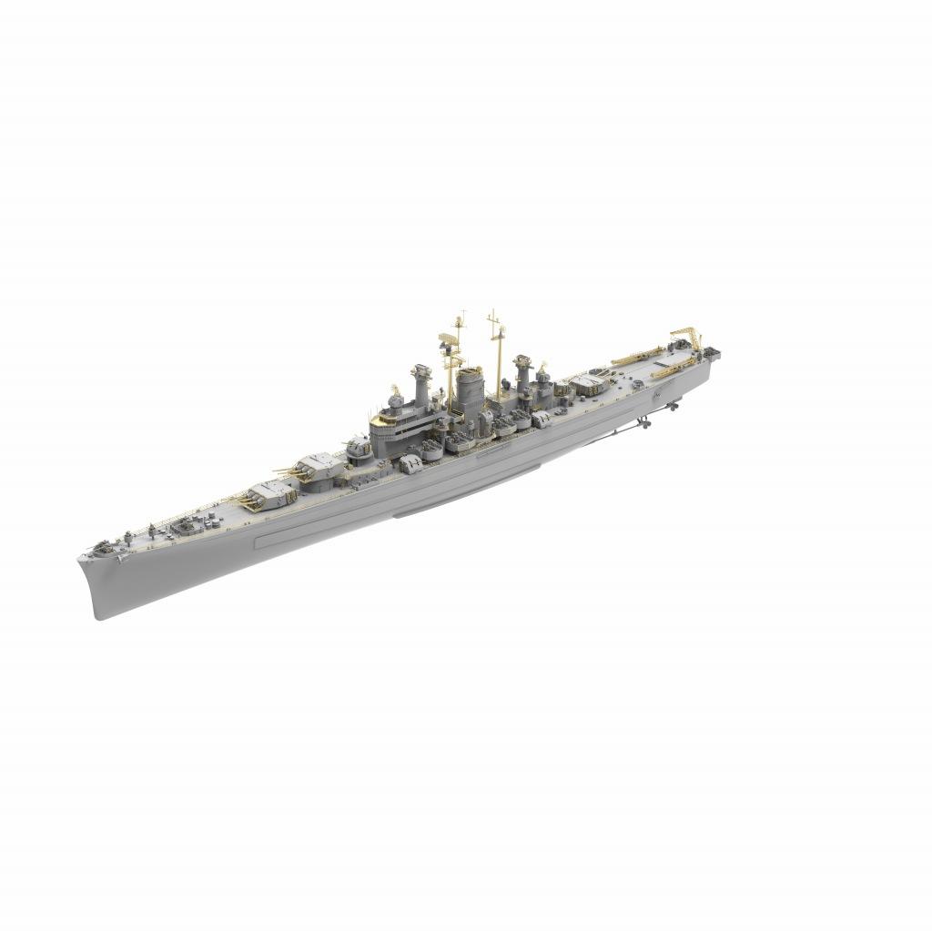 VF700907DX 米海軍 重巡洋艦 CA-134 デモイン Des Moines(デラックス版)