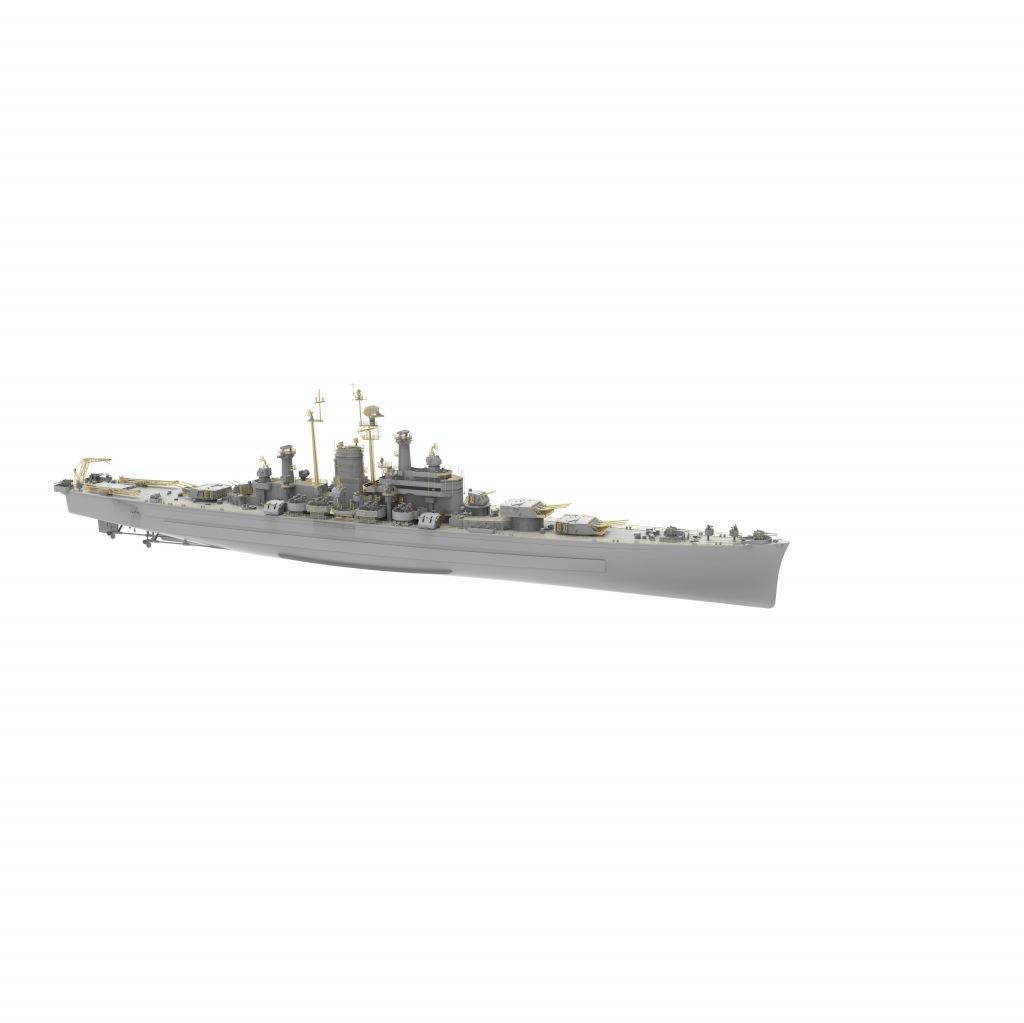 【新製品】VF700907DX 米海軍 重巡洋艦 CA-134 デモイン Des Moines(デラックス版)