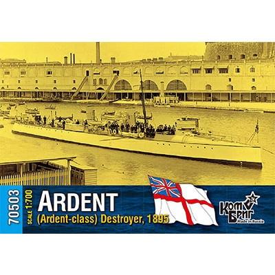 70503 英国海軍 アーデント級駆逐艦 アーデント Ardent 1895
