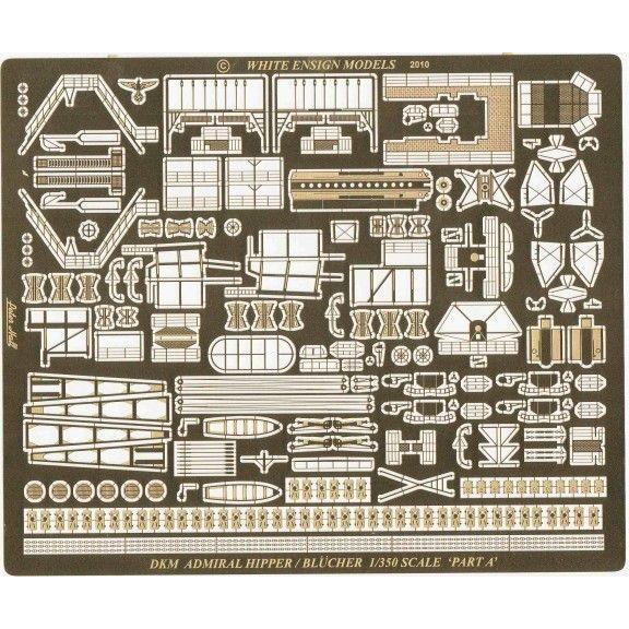 35141 重巡洋艦 アドミラル・ヒッパー/ブリュッヒャー(III)用エッチングパーツセット
