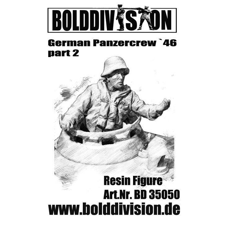 【新製品】35050 WWII ドイツ戦車兵 1946年 Pt.2