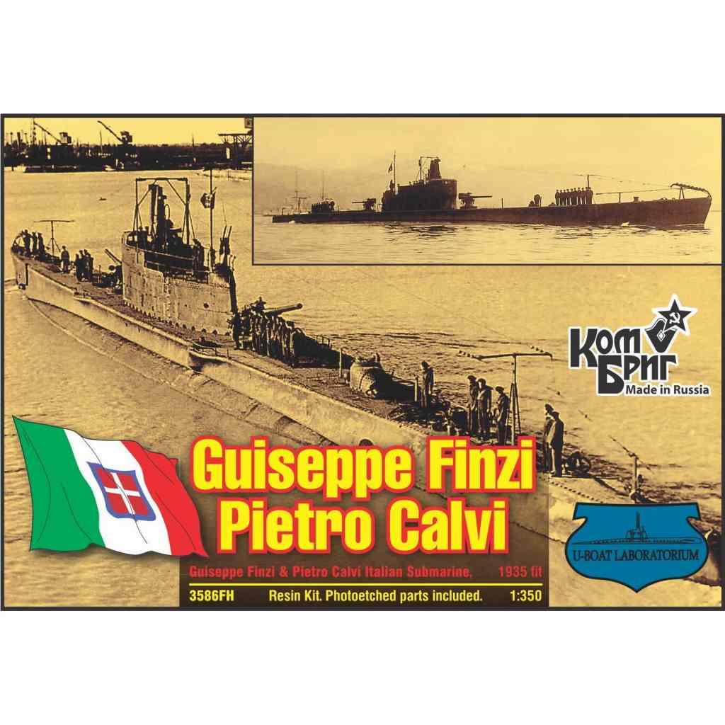 3586FH 伊海軍 潜水艦 ジュゼッペ・フィンチ/ピエトロ・カルヴィ Giuseppe Finzi/Pietro Calvi 1936