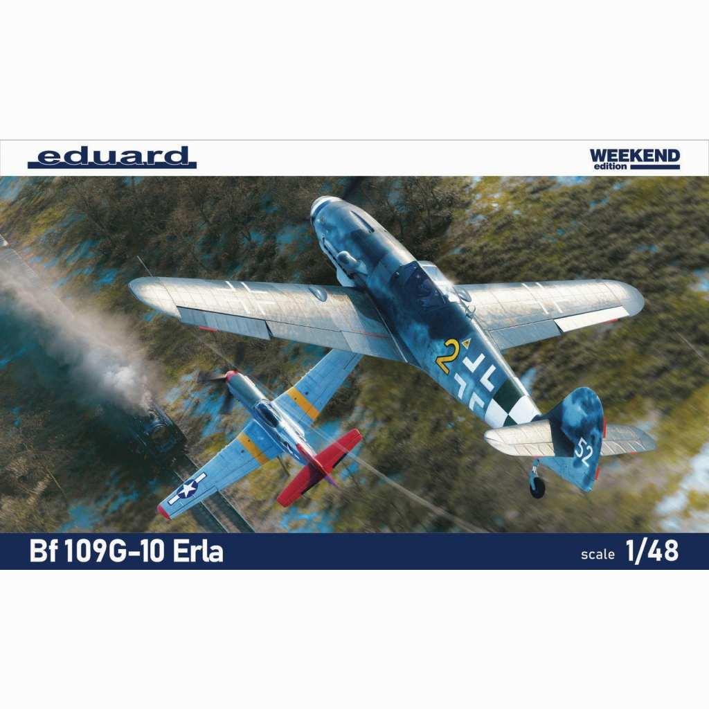 【予約受付中】84174 メッサーシュミット Bf109G-10 エルラ工場 ウィークエンドエディション