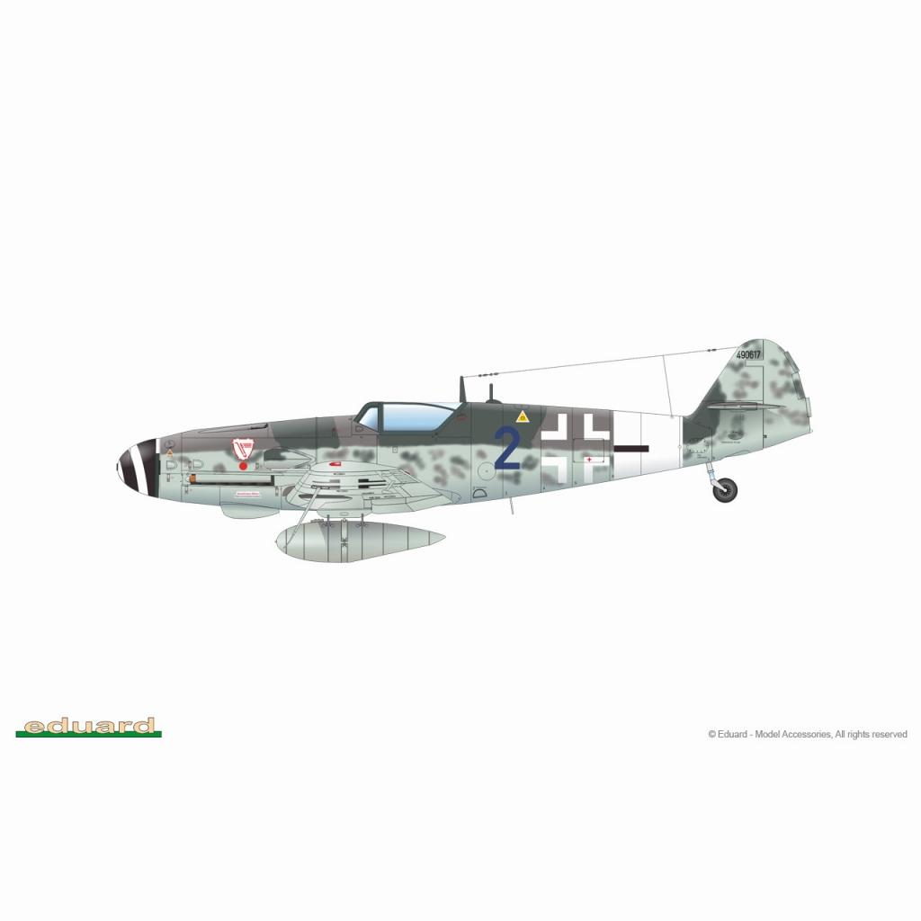【再入荷】84174 メッサーシュミット Bf109G-10 エルラ工場 ウィークエンドエディション