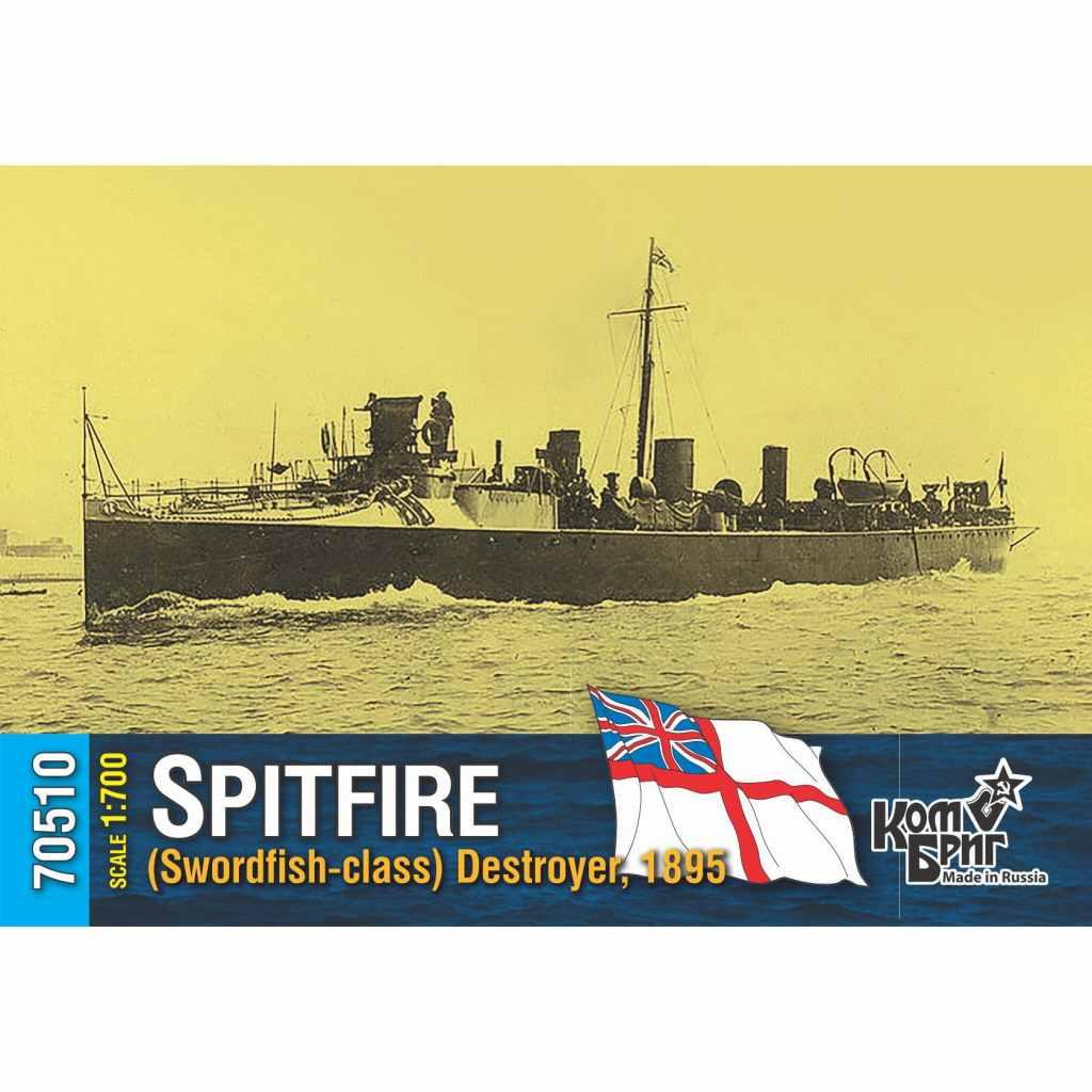 70510 英国海軍 ソードフィッシュ級駆逐艦 スピットファイア Spitfire 1895