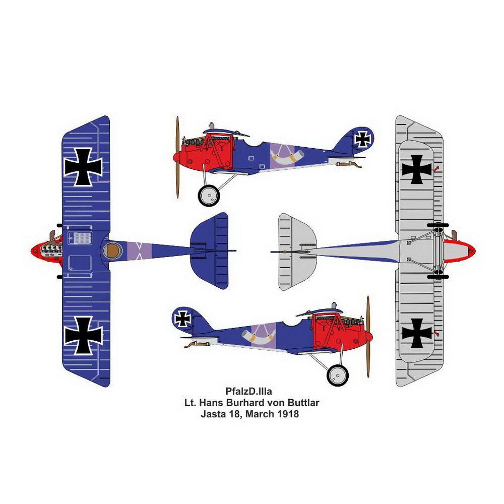 【新製品】14423 ファルツ D.IIIa デュアルコンボ