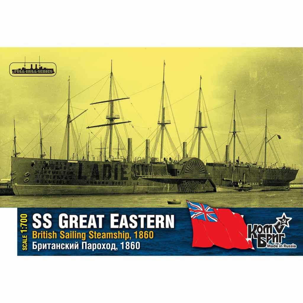 70000WL SSグレートイースタン 1860 十九世紀世界巨大蒸気船