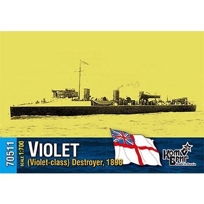 70511 英国海軍 バイオレット級駆逐艦 バイオレット Violet 1898