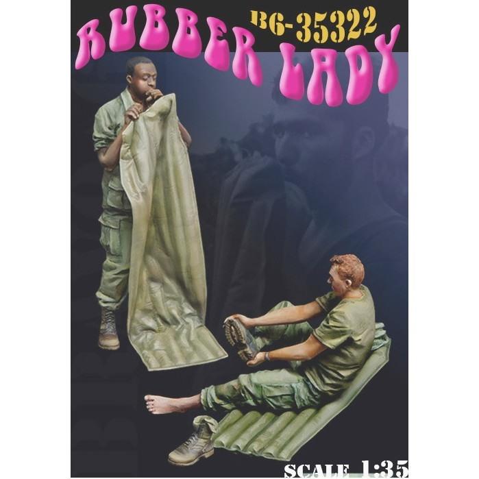 35322 ベトナム戦争 米 ラバーレディ 待望の休息