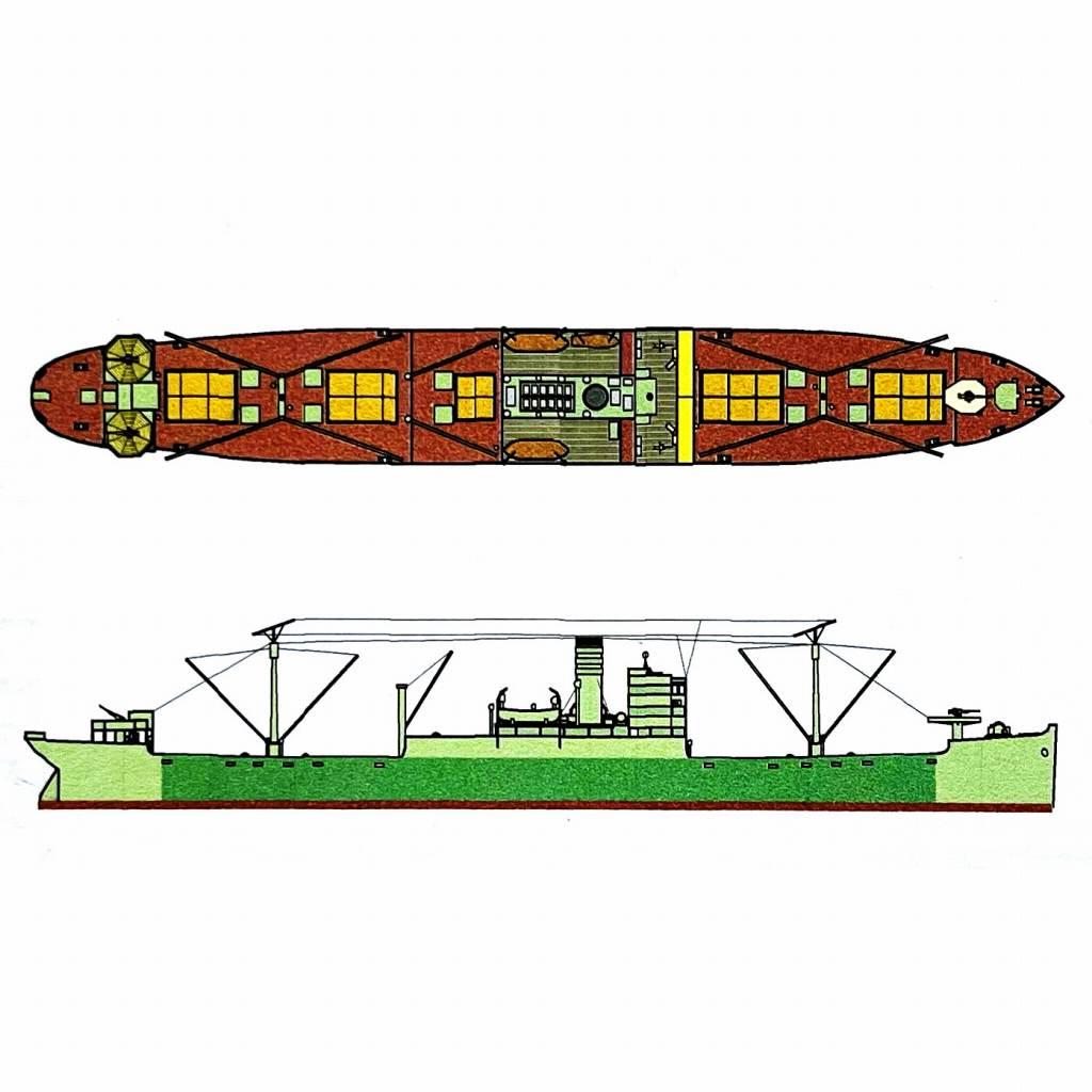 SS-C-092 陸軍 輸送船 赤城山丸