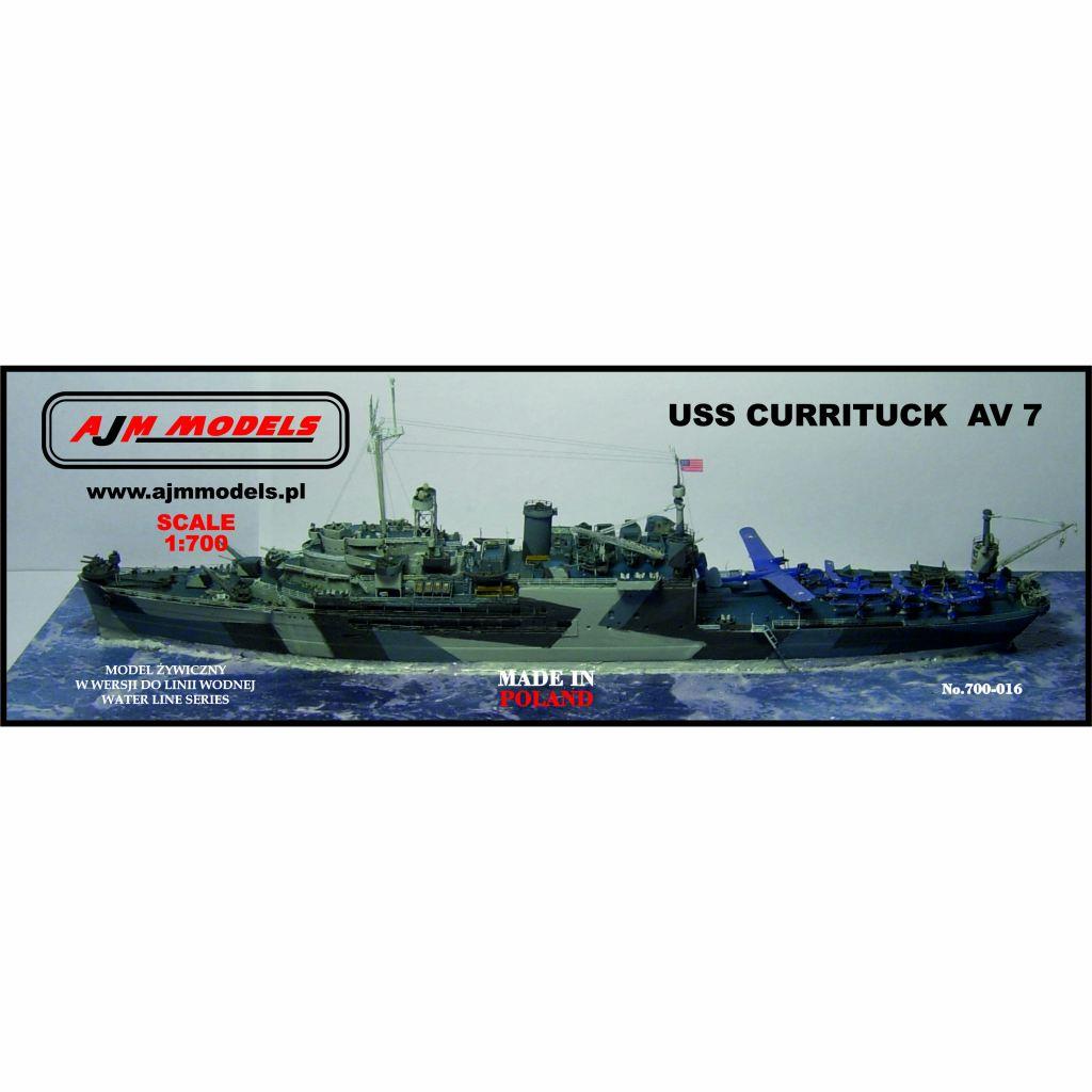 700-016 米海軍 カリタック級水上機母艦 AV-7 カリタック Currituck