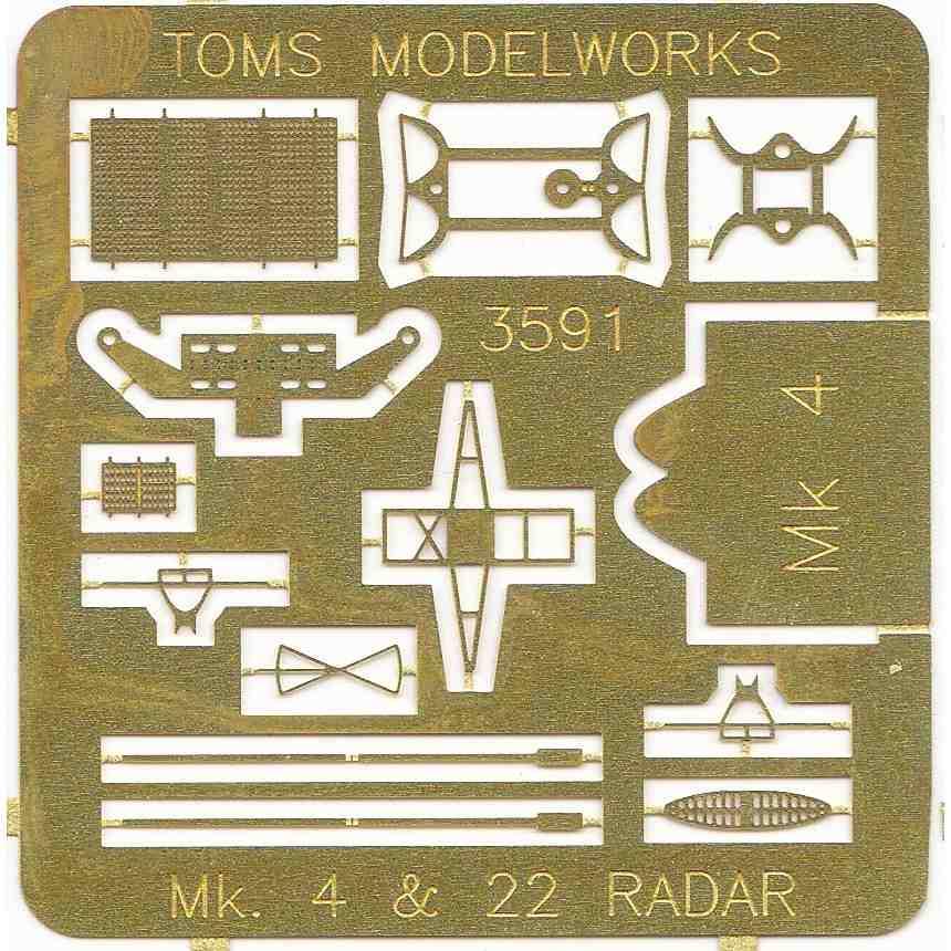 3591 米海軍 Mk.4 レーダー
