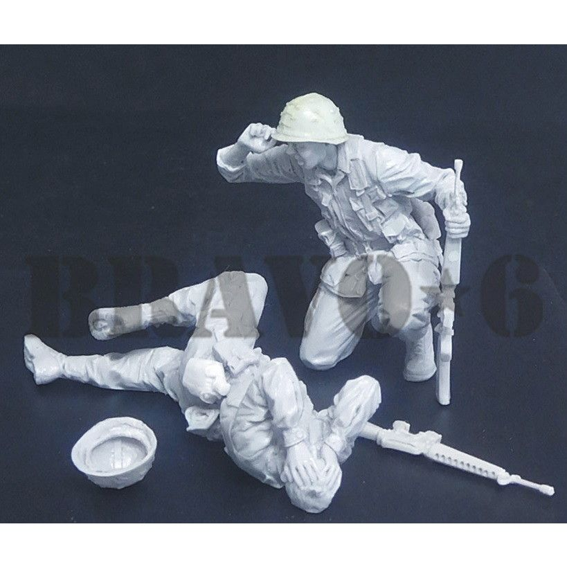 35323 ベトナム戦争 米 米陸軍歩兵(12) 撃たれた!衛生兵!