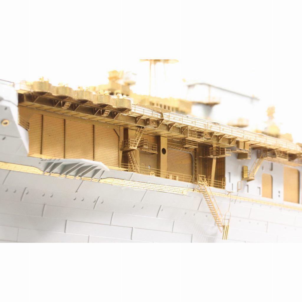 37031FB アメリカ海軍 航空母艦 CV-6 エンタープライズ 1942 ディテールアップセット アドバンスド デッキブルー